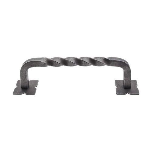 Top Knobs Appliance Pull 8 Inch Center to Center Pewter Appliance Pull M1247-8