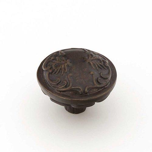Schaub and Company Cantata 1-1/4 Inch Diameter Dark Glaze Cabinet Knob 994-DG