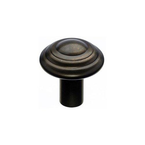 Top Knobs Aspen 1-1/4 Inch Diameter Medium Bronze Cabinet Knob M1472
