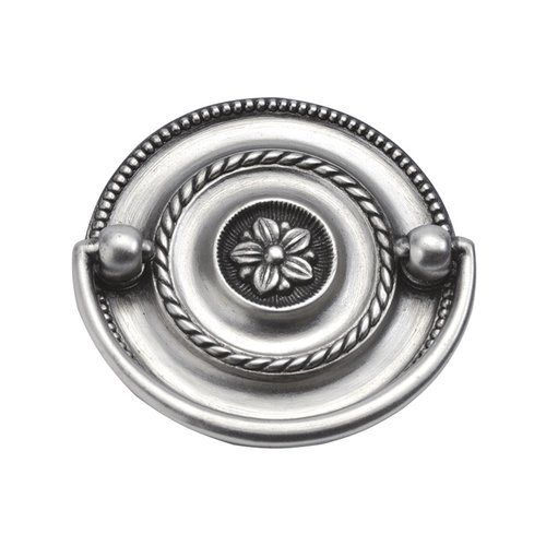 Hickory Hardware Manor House 2-1/4 Inch Center to Center Silver Stone Cabinet Bail Pull P3475-ST
