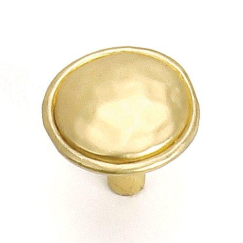 Laurey Hardware Merlot 1-3/8 Inch Diameter Satin Brass Cabinet Knob 37404