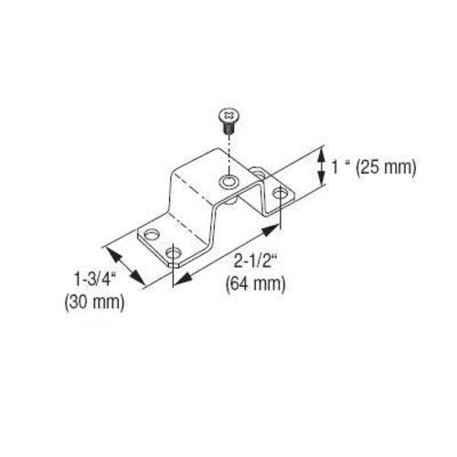 Vauth Sagel DSA Face Frame Spacer Set - Silver 9000 3018