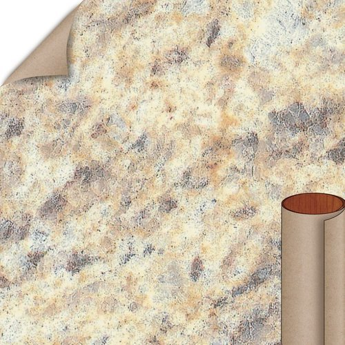 Formica Santa Cecilia Gold Matte Finish 5 ft. x 12 ft. Countertop Grade Laminate Sheet 3452-58-12-60X144