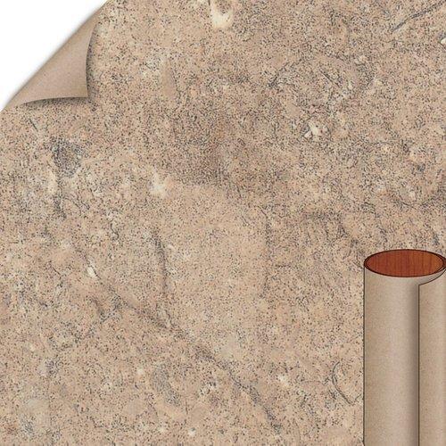Formica Mocha Travertine Matte Finish 4 ft. x 8 ft. Countertop Grade Laminate Sheet 3456-58-12-48X096