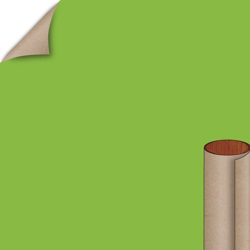 Formica Vibrant Green Matte Finish 4 ft. x 8 ft. Vertical Grade Laminate Sheet 6901-58-20-48X096