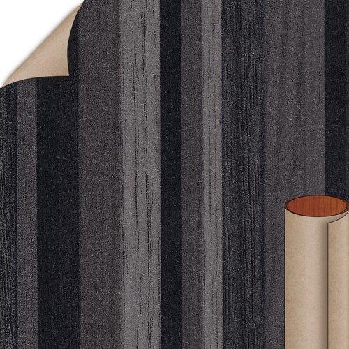 Formica Ebony Ribbonwood Matte Finish 4 ft. x 8 ft. Vertical Grade Laminate Sheet 873-58-20-48X096