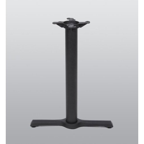 Peter Meier Table Base 5 inch x 22 inch End Style x 28 inch High-Black Matte Finish 2001-28-MT