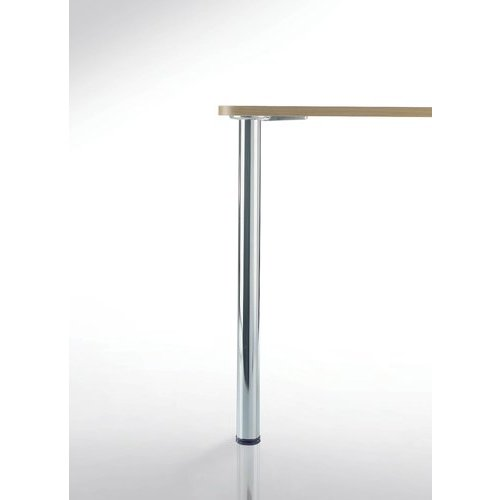 Peter Meier Prisma Table Leg Set Chrome 34-1/4 inch H 330-87-CH