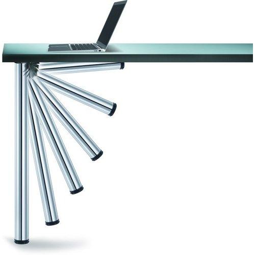 "Peter Meier Click Foldable Leg Chrome 27-3/4""H 656-7S-C1"