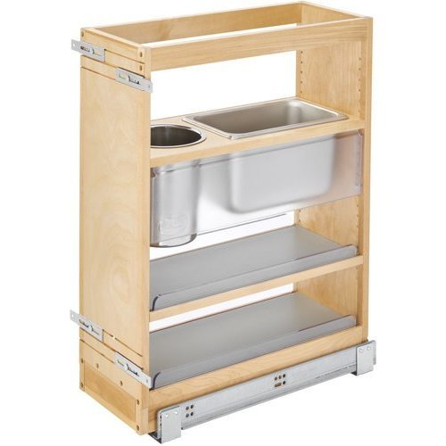 Rev A Shelf 25 X 8 Inch Vanity Grooming Organizer With