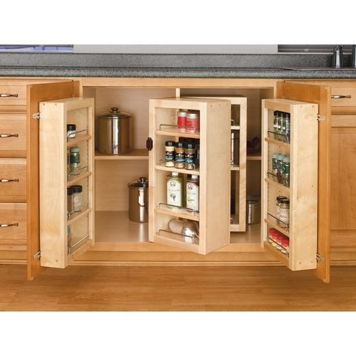 Rev A Shelf Swing Out Pantry Kit Natural Wood 4wbp18 25