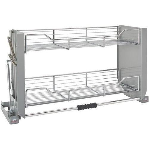 Pull Down Cabinet System: Rev-A-Shelf 36 Inch Pull Down Shelf
