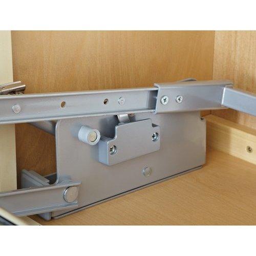 Rev-A-Shelf 24 Inch Pull Down Shelf - Chrome 5PD-24CRN