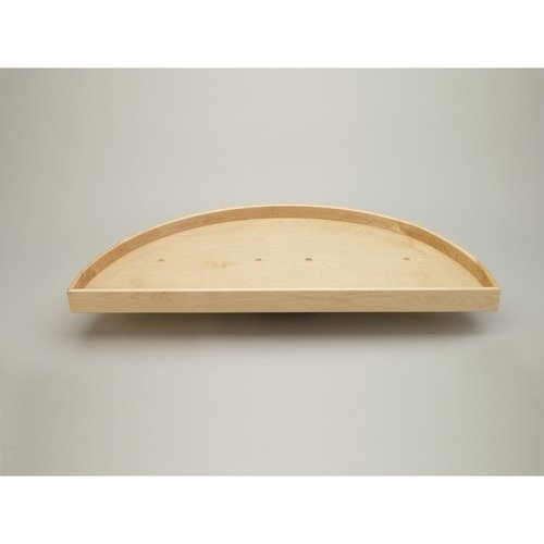 Rev-A-Shelf 32 Inch 4NW Series Half - Moon Two - Lazy Susan - Natural Wood LD-4NW-882-32-1