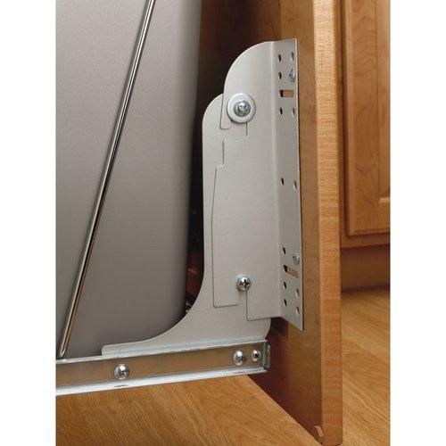 Rev-A-Shelf Door Mounting Kit for RV Series - Metallic Silver RV DM17 KIT