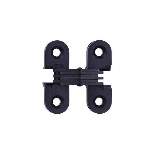 Soss #103 Invisible Hinge Black E-Coat 103CUS19