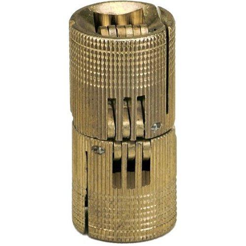 Soss Solid Brass Barrel Hinge 24mm Bh244 Cabinetparts Com
