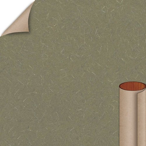 Wilsonart Green Tigris Matte Finish 4 ft. x 8 ft. Peel/Stick Vertical Grade Laminate Sheet 4667-60-735-48X096