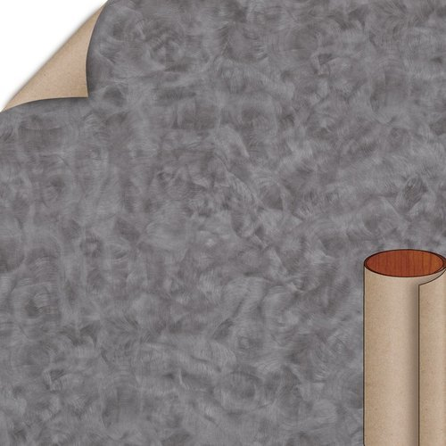 Wilsonart Pewter Brush Matte Finish 4 ft. x 8 ft. Vertical Grade Laminate Sheet 4779-60-335-48X096