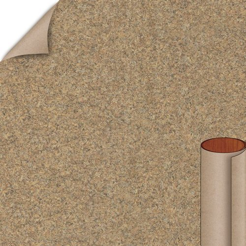 Wilsonart Ginseng Tea Matte Finish 4 ft. x 8 ft. Peel/Stick Vertical Grade Laminate Sheet 4909-60-735-48X096
