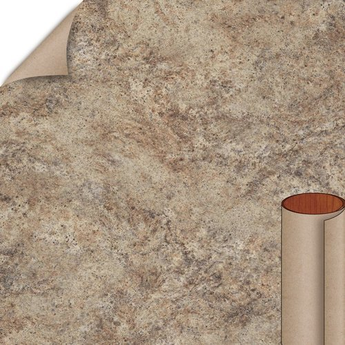 Wilsonart Madura Gold Quarry Finish 4 ft. x 8 ft. Peel/Stick Vertical Grade Laminate Sheet 4923K-52-735-48X096