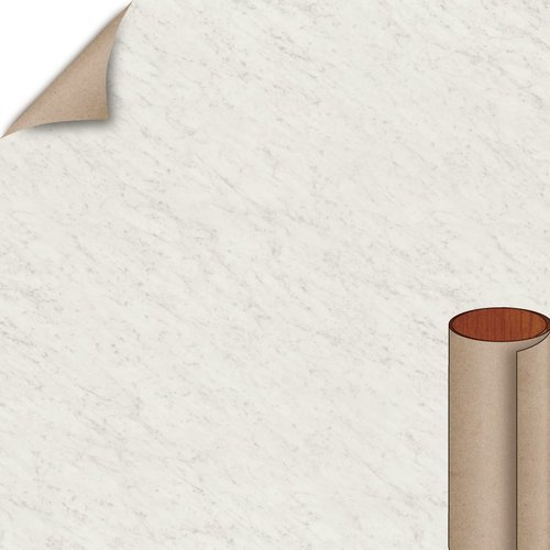 Wilsonart White Carrara Fine Velvet Texture Finish 4 ft. x 8 ft. Peel/Stick Vertical Grade Laminate Sheet 4924-38-735-48X096