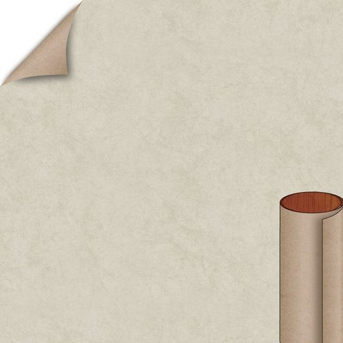 Wilsonart Natural Cotton Fine Velvet Finish 4 ft. x 8 ft. Peel/Stick Vertical Grade Laminate Sheet 4946-38-735-48X096