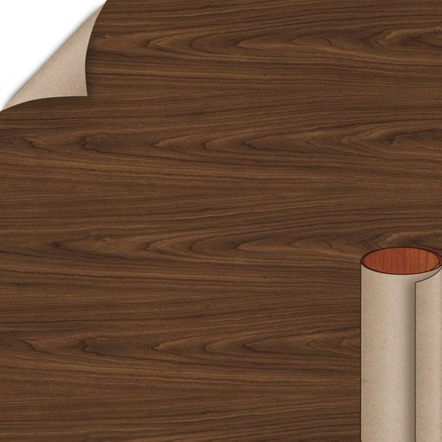 Wilsonart Montana Walnut Fine Grain Finish 4 ft. x 8 ft. Peel/Stick Vertical Grade Laminate Sheet 7110K-78-735-48X096