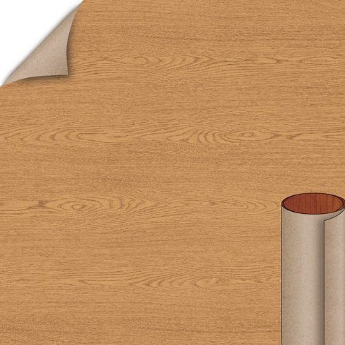 Wilsonart Bannister Oak Matte Finish 4 ft. x 8 ft. Peel/Stick Vertical Grade Laminate Sheet 7806-60-735-48X096