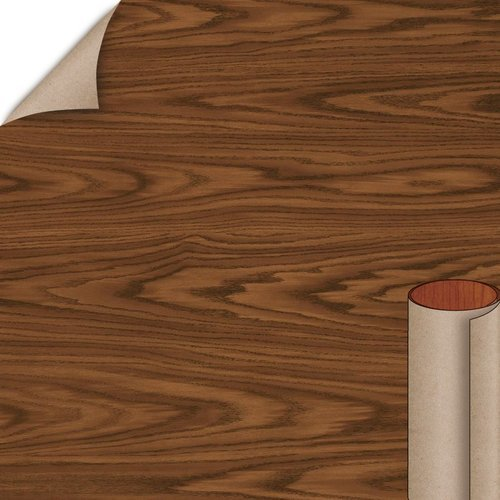 Wilsonart English Oak Fine Grain Finish 4 ft. x 8 ft. Peel/Stick Vertical Grade Laminate Sheet 7885-78-735-48X096