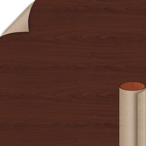 Brighton Walnut Textured Gloss Finish 4 ft. x 8 ft. Peel/Stick Vertical Grade Laminate Sheet <small>(#7922-07-735-48X096)</small>