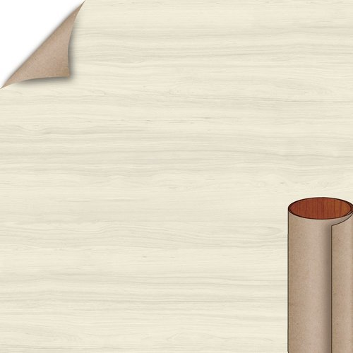 Wilsonart White Cypress Soft Grain Finish 4 ft. x 8 ft. Peel/Stick Vertical Grade Laminate Sheet 7976K-12-735-48X096