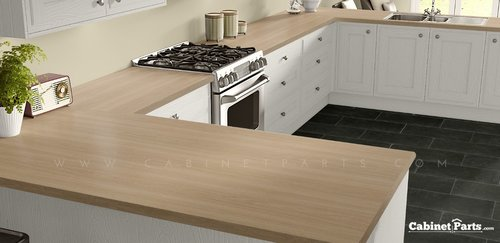 Wilsonart Bannister Oak Matte Finish 5 ft. x 12 ft. Countertop Grade Laminate Sheet 7806-60-350-60X144
