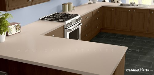 Wilsonart Beige Matte Finish 4 ft. x 8 ft. Countertop Grade Laminate Sheet 1530-60-350-48X096