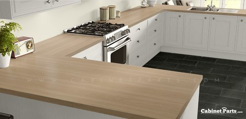 Wilsonart Beigewood Matte Finish 5 ft. x 12 ft. Countertop Grade Laminate Sheet 7850-60-350-60X144