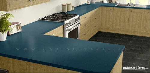 Wilsonart Blue Agave Matte Finish 4 ft. x 8 ft. Countertop Grade Laminate Sheet 4919-60-350-48X096