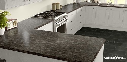Wilsonart Cosmos Granite HD Glaze Finish 4 ft. x 8 ft. Peel/Stick Countertop Grade Laminate Sheet 1870K-55-776-48X096