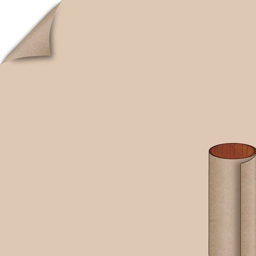 Khaki Brown Matte Finish 4 ft. x 8 ft. Peel/Stick Vertical Grade Laminate Sheet <small>(#D50-60-735-48X096)</small>