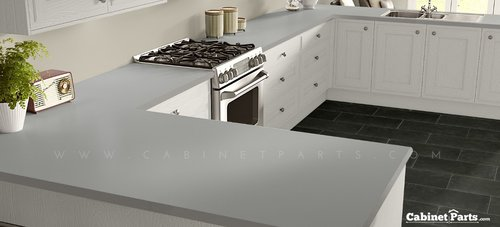 Wilsonart Dove Grey Matte Finish 4 ft. x 8 ft. Countertop Grade Laminate Sheet D92-60-350-48X096