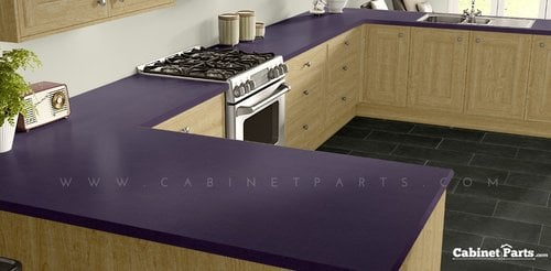 Wilsonart Eggplant Matte Finish 4 ft. x 8 ft. Peel/Stick Vertical Grade Laminate Sheet 4913-60-735-48X096