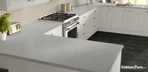Wilsonart Grey Pampas Matte Finish 4 ft. x 8 ft. Countertop Grade Laminate Sheet 4168-60-350-48X096