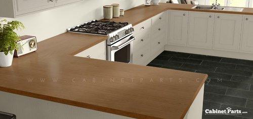 Wilsonart Harvest Maple Fine Velvet Texture Finish 4 ft. x 8 ft. Peel/Stick Vertical Grade Laminate Sheet 7953-38-735-48X096