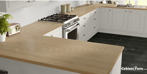 Wilsonart Kensington Maple Matte Finish 4 ft. x 8 ft. Peel/Stick Vertical Grade Laminate Sheet 10776-60-735-48X096