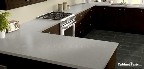 Wilsonart Luna Frost HD Mirage Finish 5 ft. x 12 ft. Countertop Grade Laminate Sheet 1849K-35-376-60X144