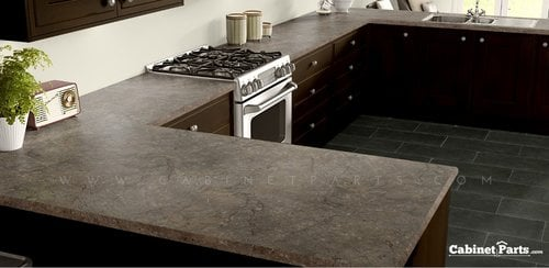 Wilsonart Mocha Fantastico Antique Finish 5 ft. x 12 ft. Countertop Grade Laminate Sheet 4957K-22-350-60X144
