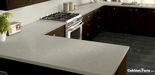 Wilsonart Natural Cotton Fine Velvet Texture Finish 4 ft. x 8 ft. Countertop Grade Laminate Sheet 4946-38-350-48X096