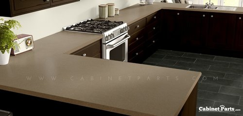 Wilsonart Natural Tigris Matte Finish 5 ft. x 12 ft. Countertop Grade Laminate Sheet 4669-60-350-60X144