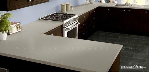 Wilsonart Neutral Glace Matte Finish 4 ft. x 8 ft. Countertop Grade Laminate Sheet 4143-60-350-48X096