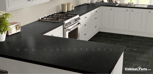 Wilsonart Oiled Soapstone Fine Velvet Texture Finish 4 ft. x 8 ft. Countertop Grade Laminate Sheet 4882-38-350-48X096