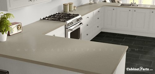 Wilsonart Pampas Matte Finish 4 ft. x 8 ft. Peel/Stick Vertical Grade Laminate Sheet 4166-60-735-48X096